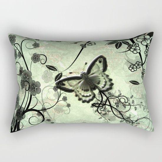 Wonderful butterflies Rectangular Pillow