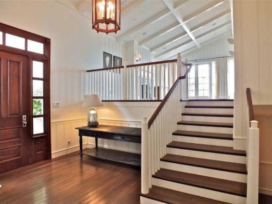 Wood painted garage door - Rare Newer Oceanfront Home Asks 4 65 Million In Seal Beach Vaulted