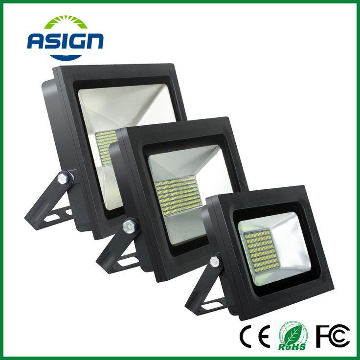 LED Floodlight 200W 150W 100W 60W 30W 15W Ultal Thin Led Flood Light Spotlight 220V 230V Waterproof Outdoor Wall Lamp Projectors