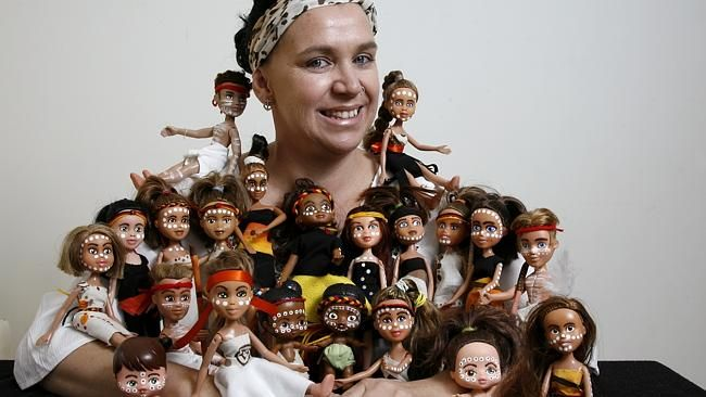 BIANCA Willder started giving second-hand Bratz dolls an indigenous makeover to teach her kids about their cultural background.
