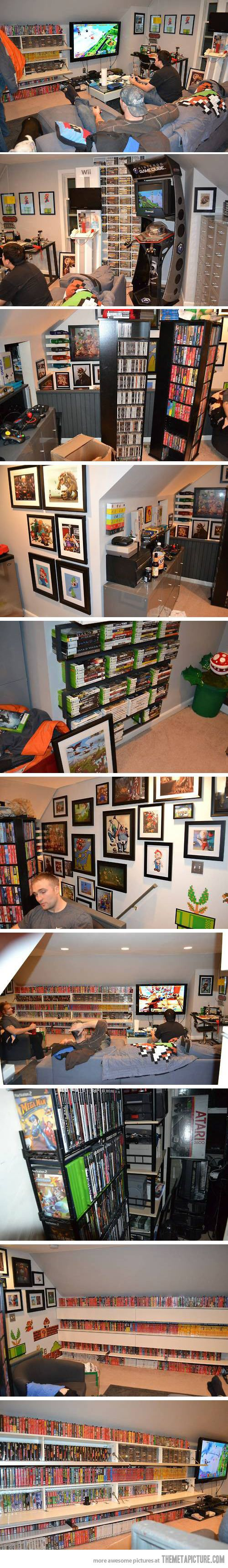 Whenever we buy a house, I'm thinking we need an extra room so that @Joshua Tribble can do this!