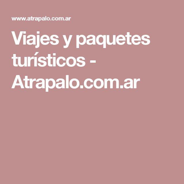 Viajes y paquetes turísticos - Atrapalo.com.ar