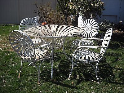 Garden Furniture Steel 46 best vintage garden furniture images on pinterest | garden