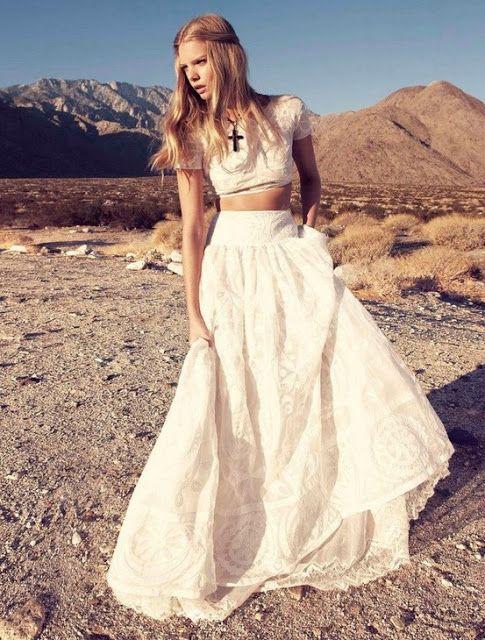 Maiden with amazing desert background.