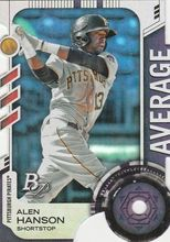 2014 Bowman Platinum Toolsy Die Cuts #TDC-AHA Alen Hanson, Pittsburgh Pirates