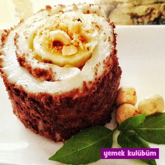 TARİF : Muzlu Rulo   #muz #muzlu #rulo #sütlü #sütlütatlı #tatlıtarifi #tatlıtarifleri #kakao #kakaolu #fındık #nut kolay pratik muzlu rulo pasta kek tarifi yapılışı nasıl yapılır, farklı değişik muzlu kakaolu bisküvili rulo kek pasta tarifleri, resimli sütlü tatlı tarifleri