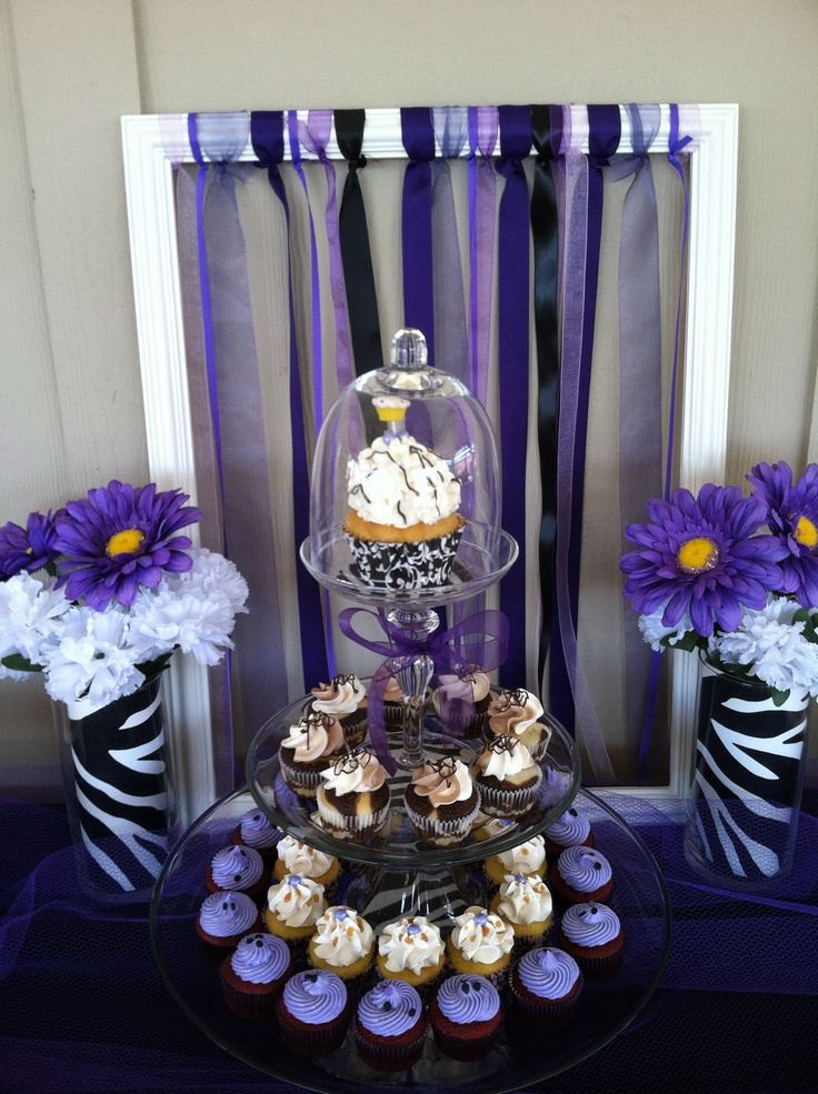 22 Best Images About Purple And Zebra Stripes Baby Shower
