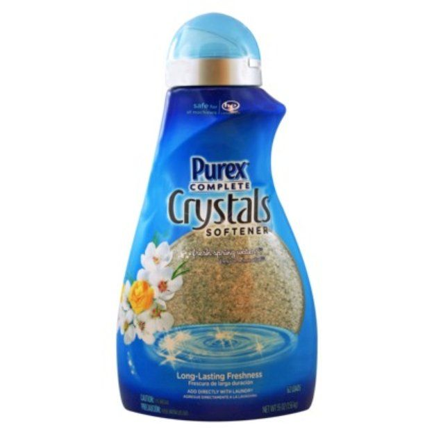 I'm learning all about Purex Complete Crystals Fresh Spring Waters Laundry Enhancer at @Influenster!