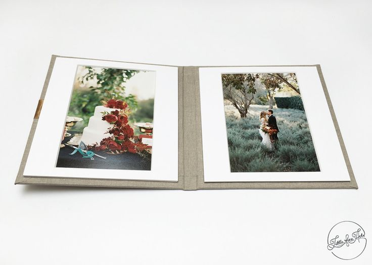 Linen Matted Folio 4x6 prints with two slip-in by LittleFineArts
