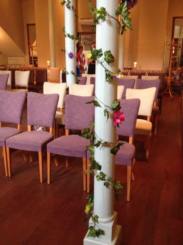 Beautiful Pillars To Decorate Unique WeddingsWedding VenuesDerbyBeautiful Wedding