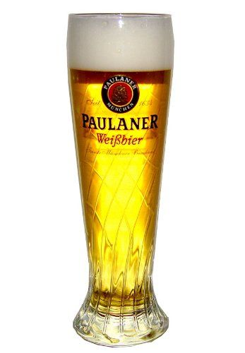 Paulaner Weissbier Wheat Beer 22 Ounce Glass | Set of 2 Glasses Paulaner Munchen & Rastal Fine Glassware http://www.amazon.com/dp/B005KXL1PK/ref=cm_sw_r_pi_dp_9kAxub00E29MH