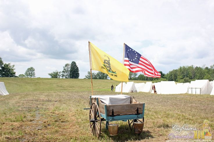 Don't Tread On Me American revolution battles, Country