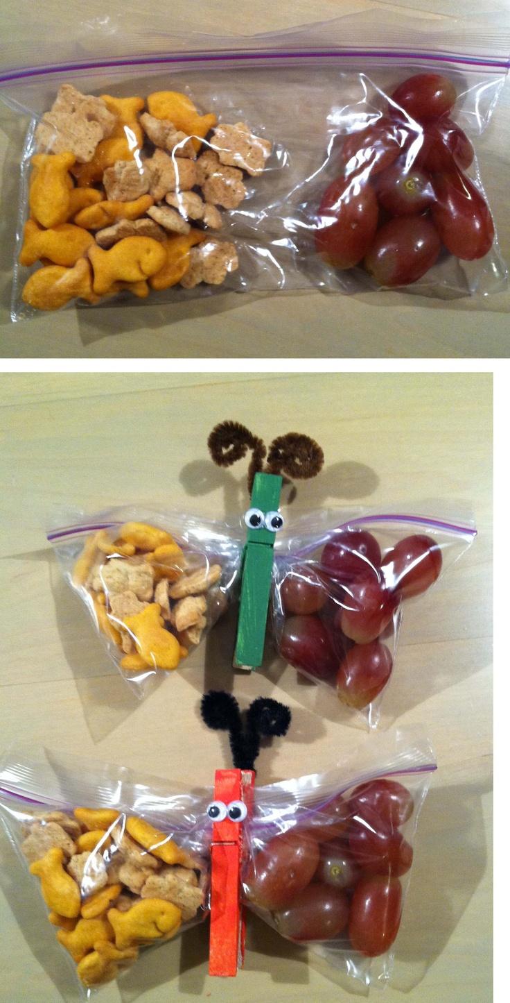 Classroom Snack Ideas Kindergarten ~ Best butterfly snacks ideas on pinterest bug