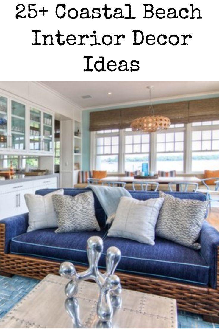 51 Beach Coastal Decor Ideas With Images Coastal Living Rooms