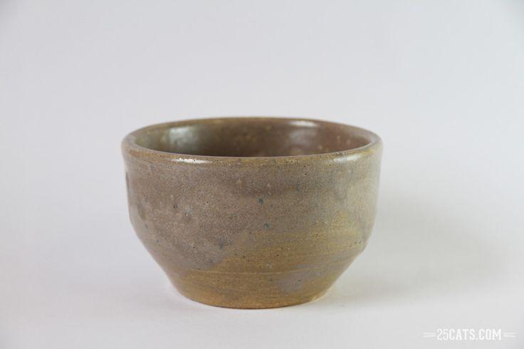 Pristine gray bowl