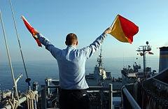 Flag semaphore -