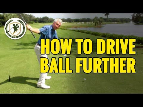 HOW TO HIT A DRIVE FURTHER - DRIVER GOLF TIPS - YouTube