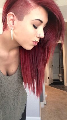 half head hairstyles tumblr - Google Search