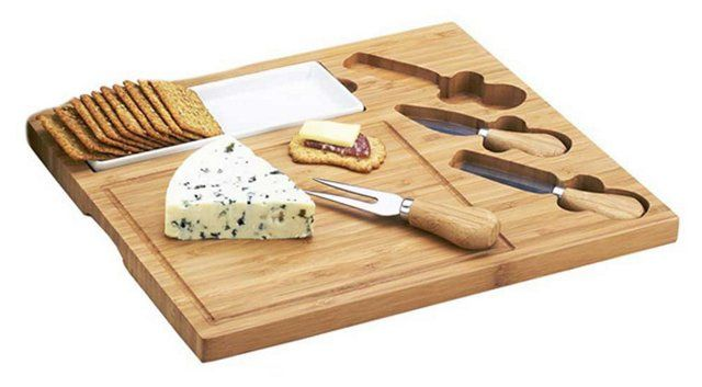 Celtic+Cheese+Board+Set,+Bamboo