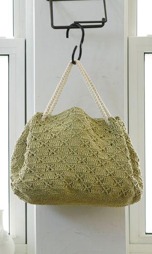 Crochet handbag. Free pattern - diagram/Japanese.