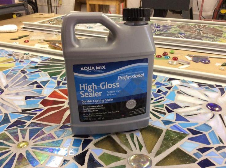 High gloss grout sealant