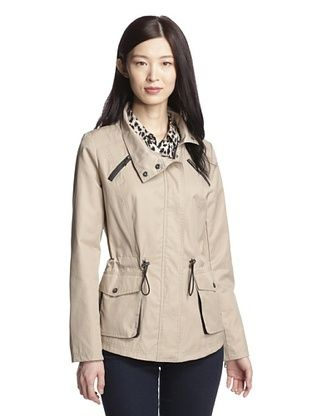 71% OFF Circus by Sam Edelman Women's Anorak with Corset Detailing (Almond)