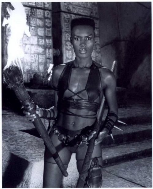 "Conan the Destroyer (1984)    Grace Jones as ""Zula"""
