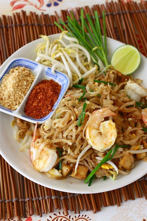 Pad Thai recipe - this one is close to how I remember Pad Thai in Thailand
