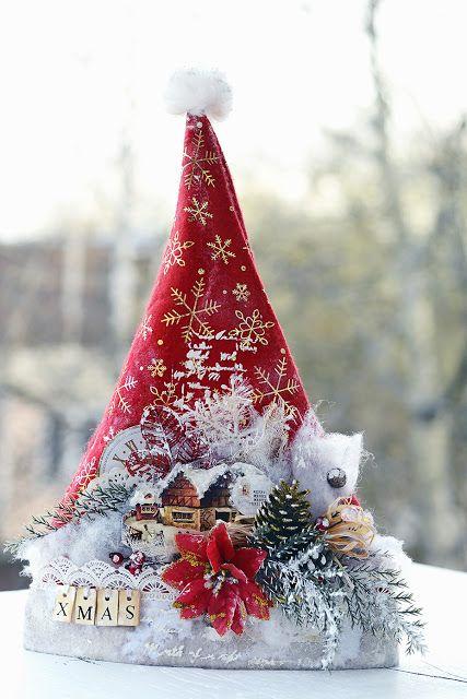 By Ekaterina_Ko: Magic hat Santa Claus / Santa`s cap