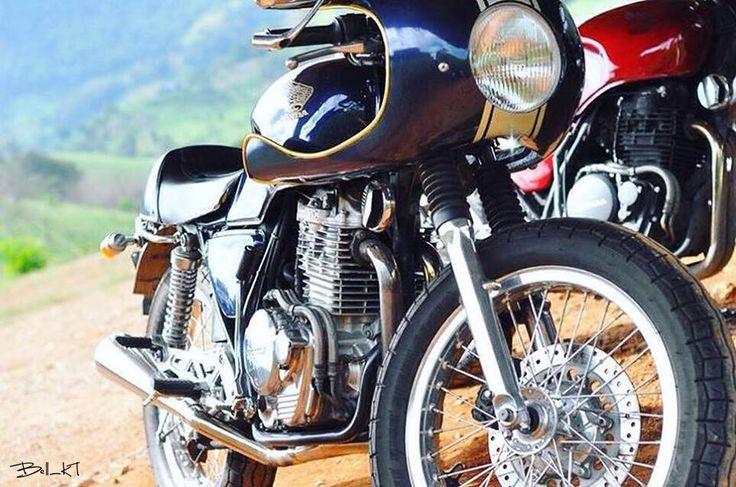 HONDA GB400 CAFE RACER