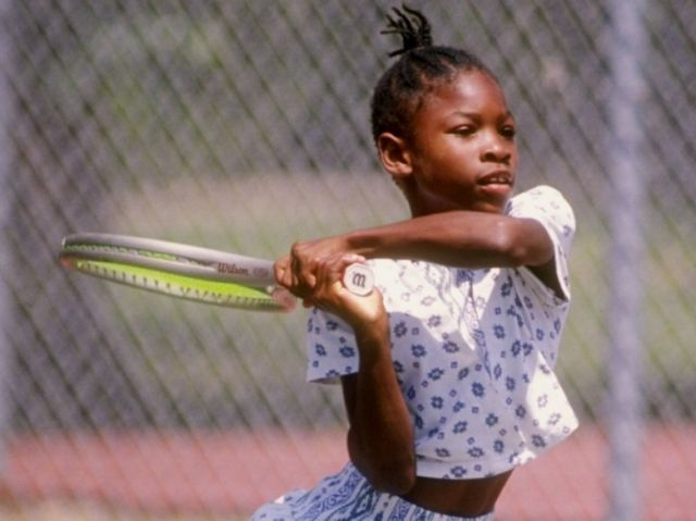 the young serena williams tennis passion pinterest