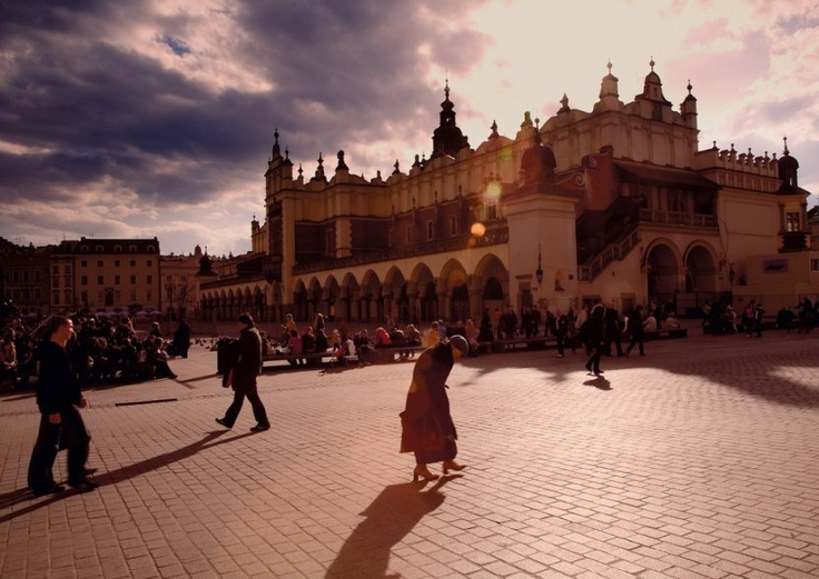 UNSPOILT. Europe's largest medieval square, Rynek Główny, is the centrepiece of the Old Town.