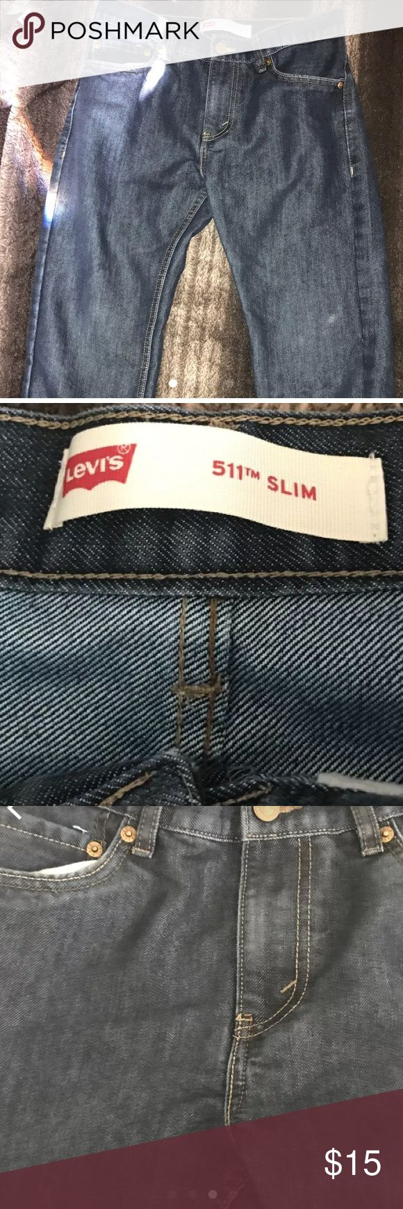"Levi's boys slim 511 👖 pants. Levi's Slim 511 18 reg w29""- L 29"" Gently used. Levi's Bottoms Jeans"