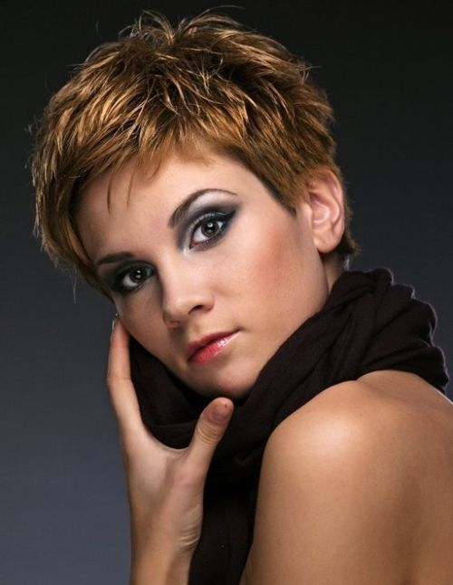 short hair cuts for round fat faces | 30 Sexy Formal Hairstyles For Short Hair | CreativeFan