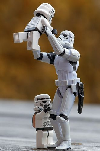 storm trooper photo project - so cool!