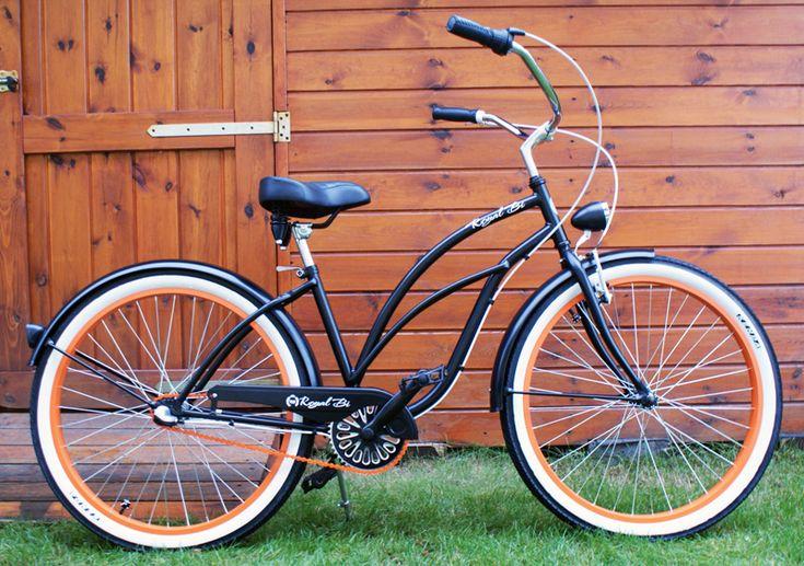 Rower cruiser Pumpkin Spice #bike #cruiser #beachbike #beachcruiser #royalbi #rower #miejski www.RoyalBi.pl