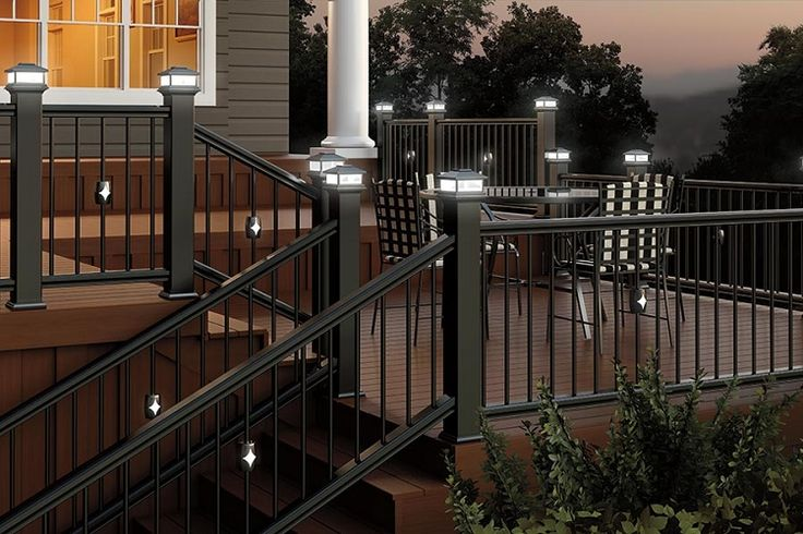 Want This Look Deckorators Classic Balusters With A Black