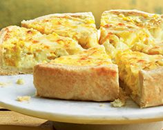 Golden Summer Squash & Corn Quiche