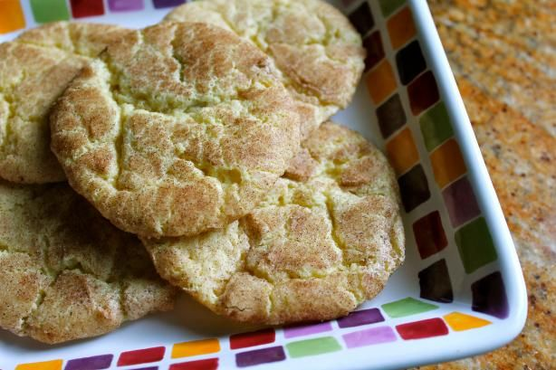 "Soft Snickerdoodle Cookies: ""I actually got these cookies from an old recipe that my great grandma had clipped out of a newspaper. Grandma always knows best!"" -Juju Bee"