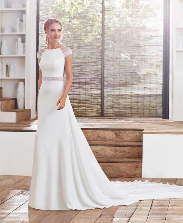 Robes de mariée bohème de créateur Rosa Clará