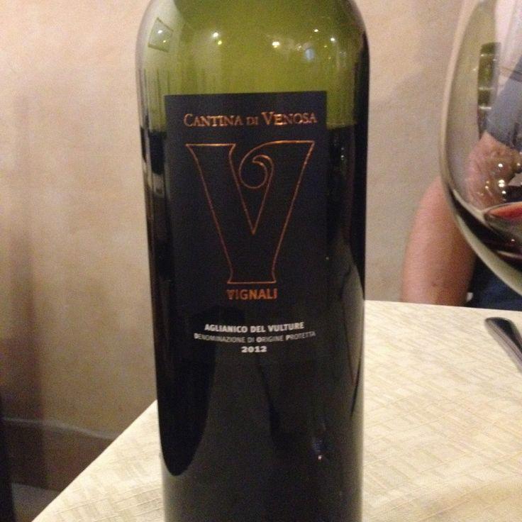 2012 Cantina di Venosa Aglianico del Vulture