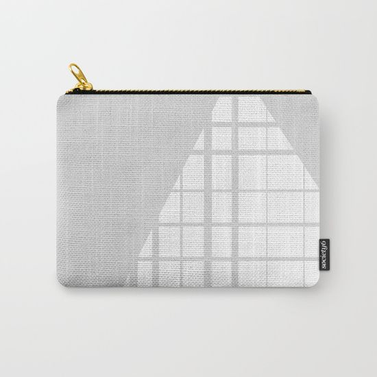 Windows Carry-All Pouch by Bravely Optimistic | Society6