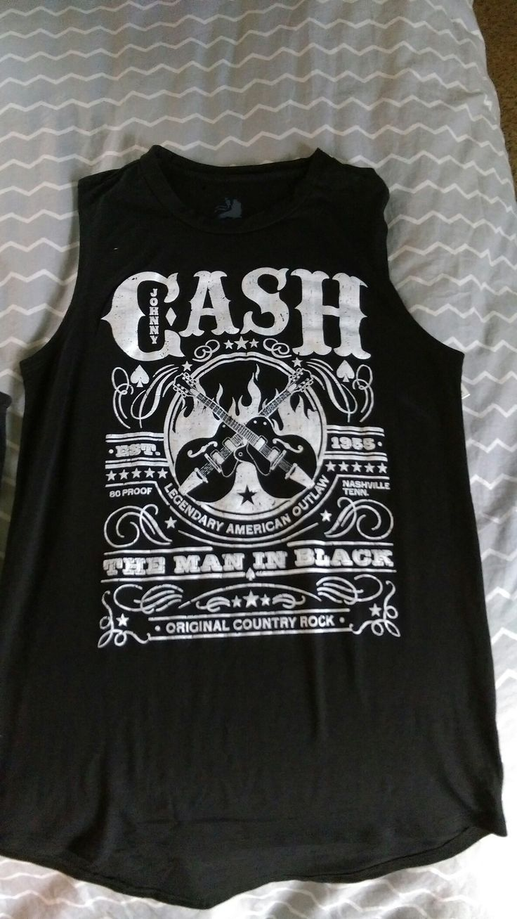 My new Johnny Cash shirt
