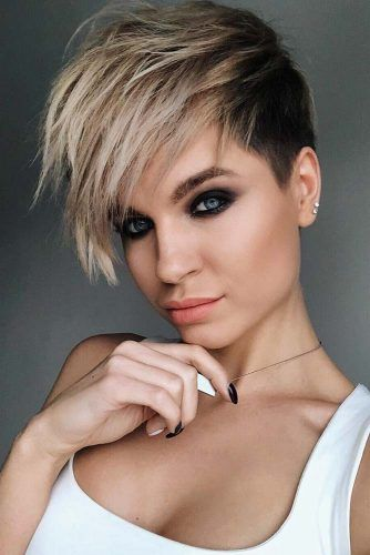 Short Haircuts for Women – Long Pixie picture2