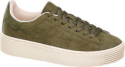 Sneaker von Graceland in olive - deichmann.com