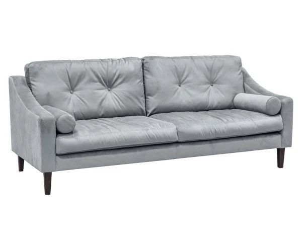 "Sofa ""Madura Light Grey"", 218 x 92 x 85 cm"