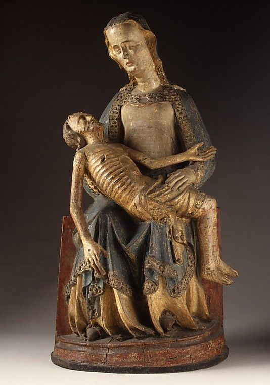 Pietà, Rhine Valley, German, 1375–1400