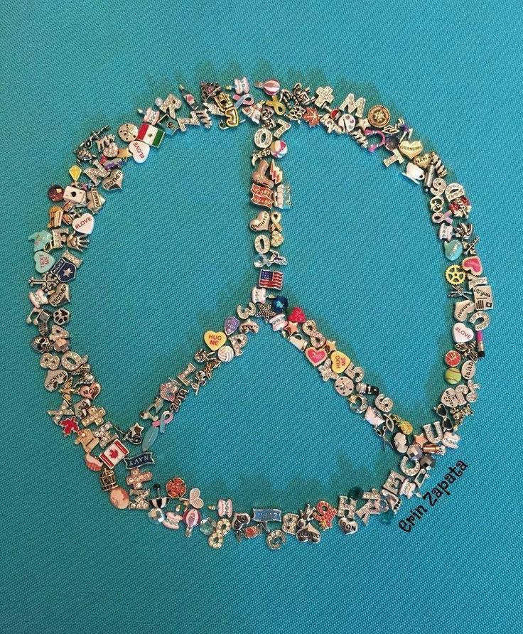 How many charms? Answer: 368 Peace Sign SparkleWithJennifer.OrigamiOwl.com