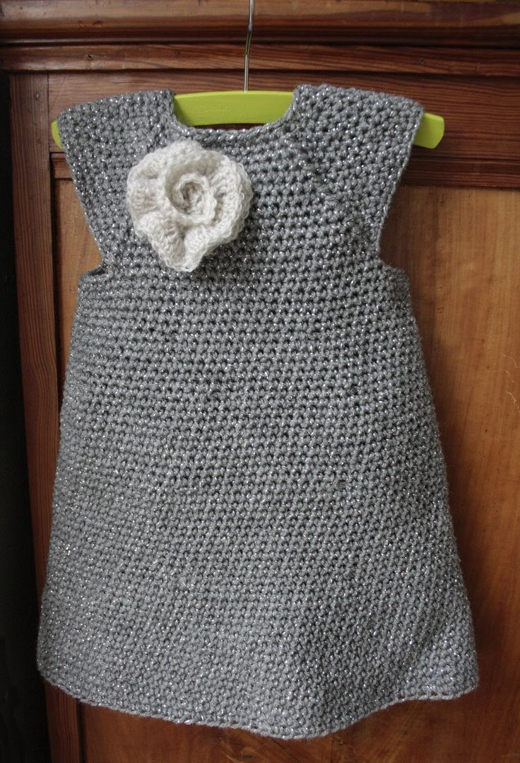 Girl's crochet dress