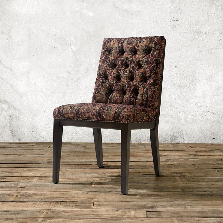 beautiful tufted dining chair